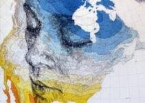 Ed Fairburn : l'homme qui dessine des visages sur les cartes topographiques