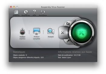 Kaspersky Virus Scanner Mac analyses