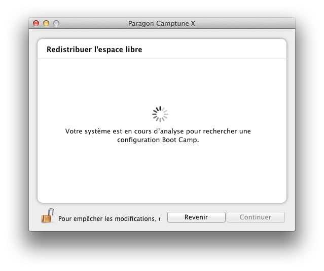 redimensionner une partition Mac ou Windows camptune partition boot camp