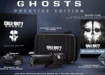 Call of Duty Ghosts Edition Prestige : déballage coffret