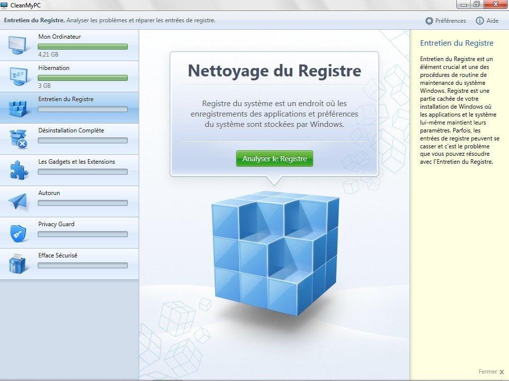 nettoyer windows nettoyer registre windows 8