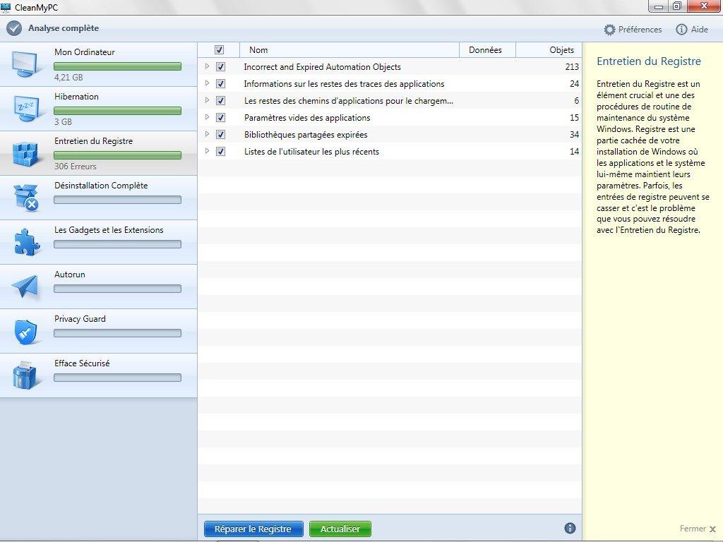 nettoyer windows nettoyage registre windows 8.1