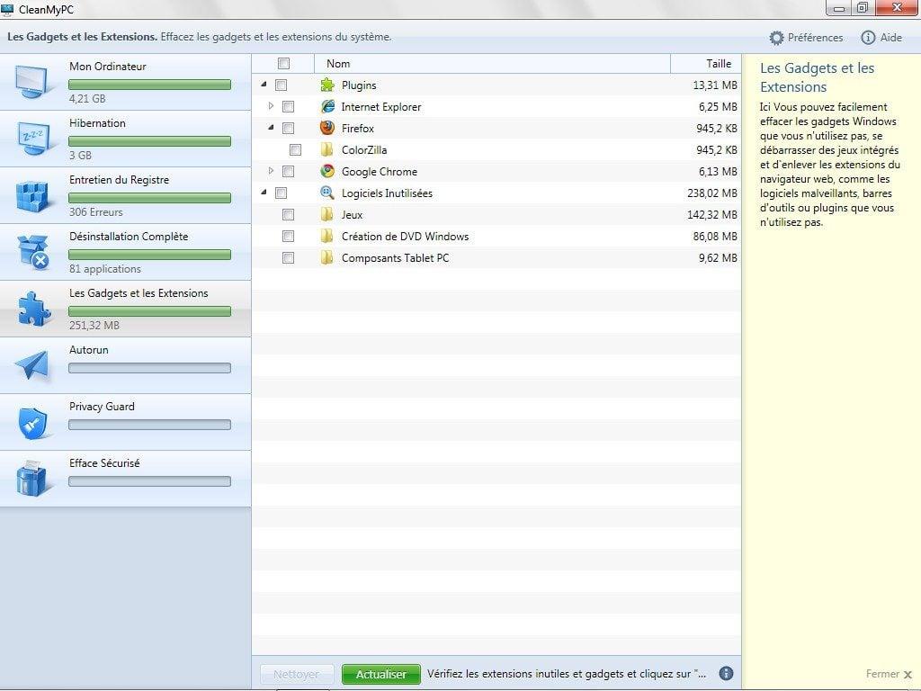 nettoyer windows nettoyer gadgets windows 8