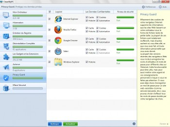 nettoyer navigateur windows 8