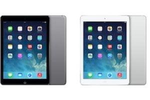 iPad Air noir vs blanc