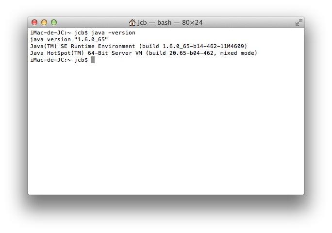 Comment Installer Java Pour Mavericks Mac Os X 10 9 Jcbtechno