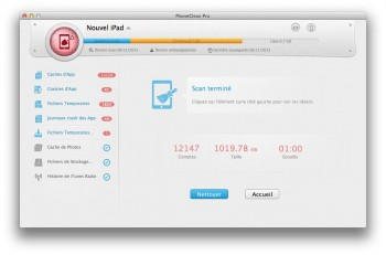 nettoyer un iPhone ou iPad nettoyage rapide ipad