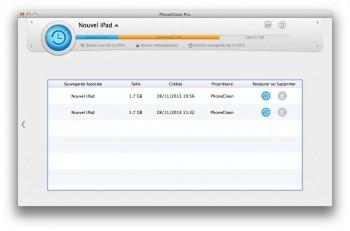 nettoyer un iPhone ou iPad phoneclean restauration