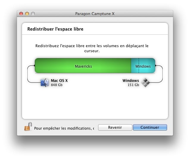 redimensionner une partition Mac ou Windows redimensionner partition mac os x