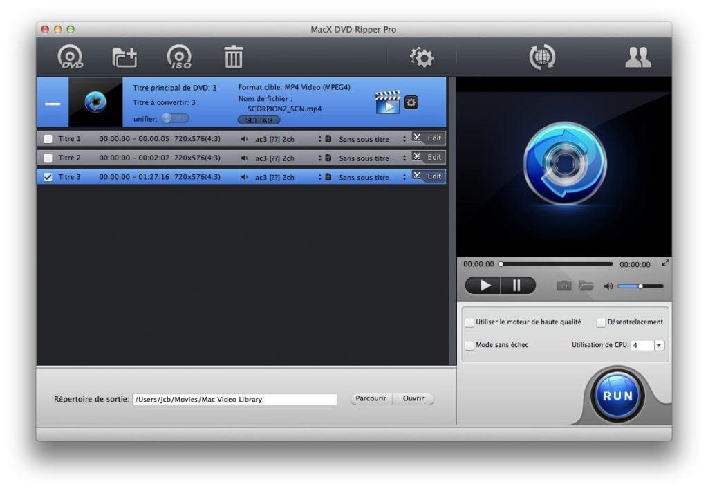 tuto MacX DVD Ripper Pro