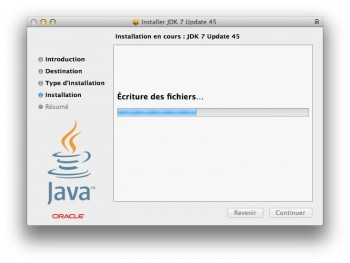 tuto installer java mavericks