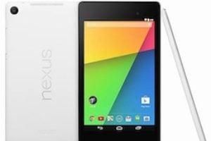 Google Nexus 7 noir ou blanc