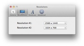 changement resolution rapide mavericks