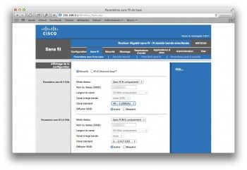 configurer wifi routeur mavericks