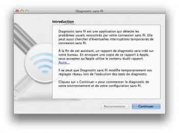 diagnostic wifi mavericks