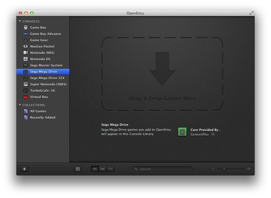 Openemu le meilleur mulateur de console pour mac os x - Emulateur console pour pc ...