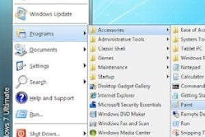 menu demarrage windows 8