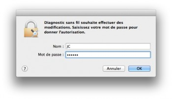 mot de passe mavericks