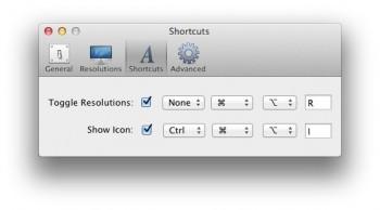 raccourci clavier changer resolution mac