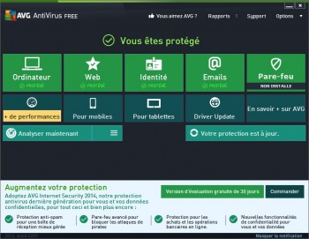 test AVG AntiVirus FREE 2014
