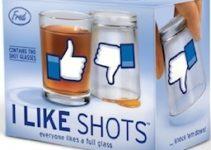 I LIKE SHOTS : deux verres Facebook pour les fans !