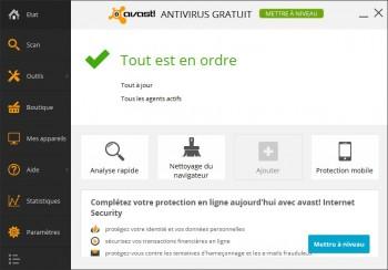 test avast antivirus gratuit 2014