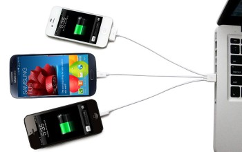cable recharge universel smartphone