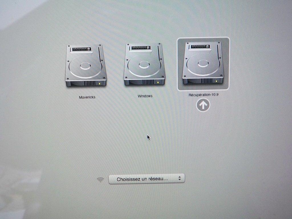 Tuto r initialiser un mot de passe oubli sur mac os x for Fenetre utilitaire mac
