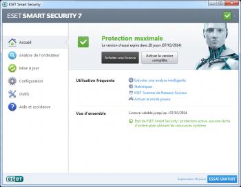 Eset Smart Security 2014 - pare-feu