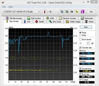 HP Spectre 13 Ultrabook hdtunepro
