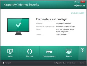 Kaspersky Internet Security 2014 - pare-feu