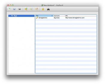 KeePassX gestionnaire de mots de passe windows