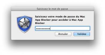 Mac App Blocker mot de passe