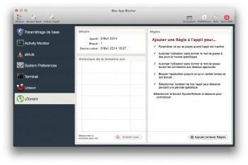 Mac App Blocker protection app mot de passe