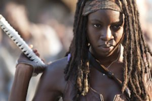The Walking Dead s04 Michonne