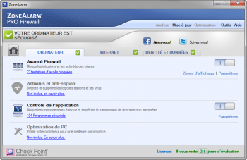 zone alarm pro firewall 2014 - pare-feu