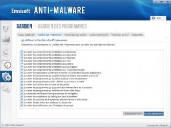 emsisoft Anti-Malware gardien