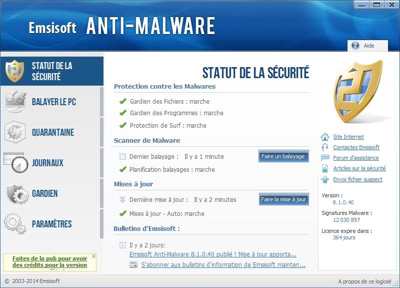 Comment supprimer d finitivement les malwares sous windows 8 1 for Supprimer les vers