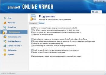 firewall comportement des programmes