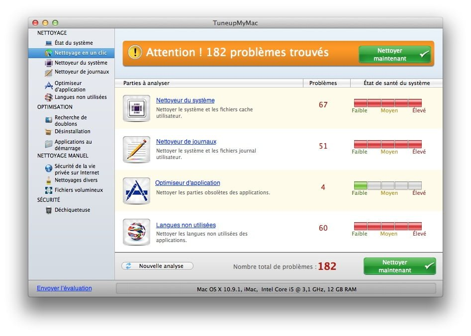 nettoyer installer mac os x mavericks de usb