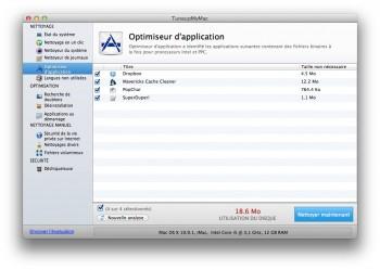 optimiseur d'application mac