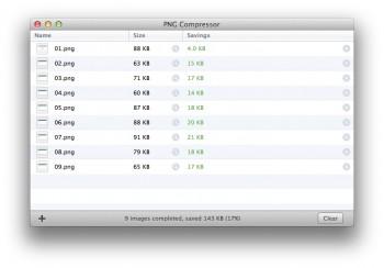 PNG Compressor app