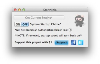StartNinja couper son mac