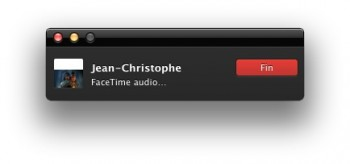 appel facetime audio