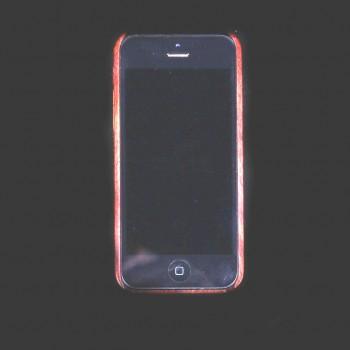 etui bois fonce iphone 5s