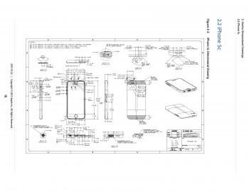 iphone 5c schema technique