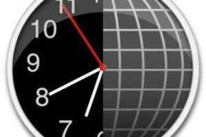 the clock horloge mondiale mac