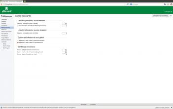 ubuntu utorrent bande passante