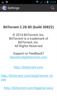 bittorrent pour android