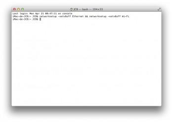 desactiver ipv6 mac ethernet et wifi